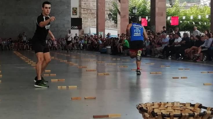 Unai Iantzi aniztarrak bigarren aldiz irabazi du Nafarroako lokotx-biltze txapelketa