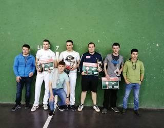 Julen Iriartek eta Mikel Cenozek irabazi dute Erratzuko Pala Txapelketa