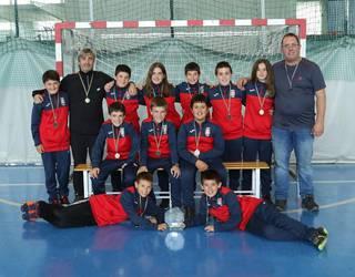 Kopako finala galdu dute Aurrerako areto-futboleko infantil eta alebinek