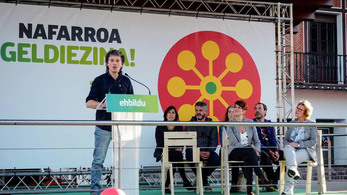 Hauteskundetako ekitaldi nagusia egin du Baztango EH Bilduk