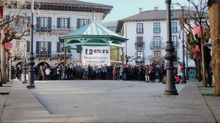 'Bortz herri martxan' manifestazioa eginen dute larunbatean Lesakan