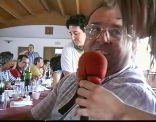 Herri-bazkaria izan zuten 2002ko Igantziko bestetan