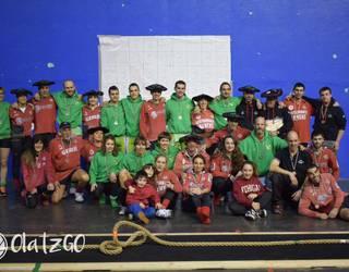 Bigarren izan da Beti Gazteko talde mistoa Euskadiko sokatira txapelketako azken saioan