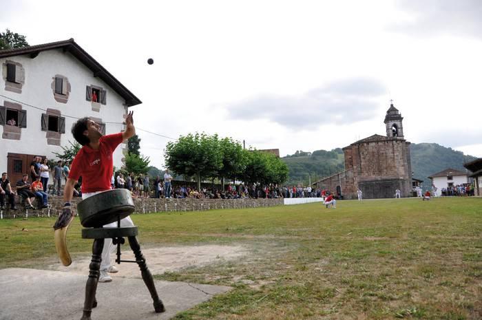 Laxoa Kultura Intereseko Ondasun Inmaterial aitortzeko espedienteari hasiera eman dio Nafarroako Gobernuak