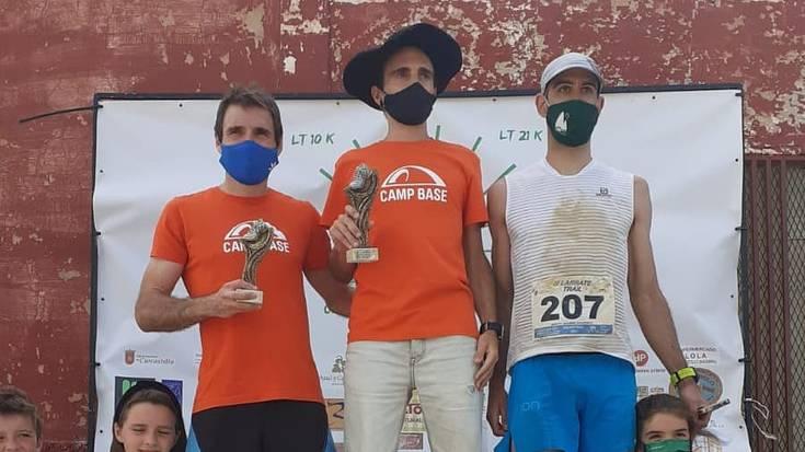 III. Larrate Trail irabazi dute Hodei Lujanbio goizuetarrak eta Maria Rebeca Mariño elizondarrak
