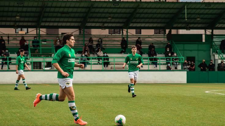 Oraindik liderragoa da Beti Gazte futbol taldea Ortzegun Santuko partidaren ondotik
