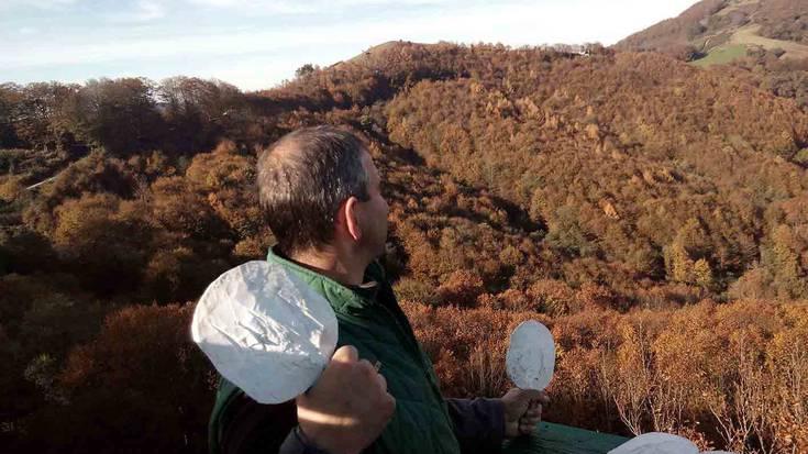 Etxalarko usategietan 118 dozena uso ehizatu dituzte aurten sareekin