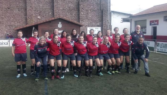 Baztan eta Beti Gazteko emakumeek eta Aurrerako mutilek lortu dituzte garaipenak futbol talde nagusien artean