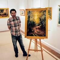 Miquel Cazañaren margolanak ikusgai egonen dira Arizkunenean uztailaren 20ra arte