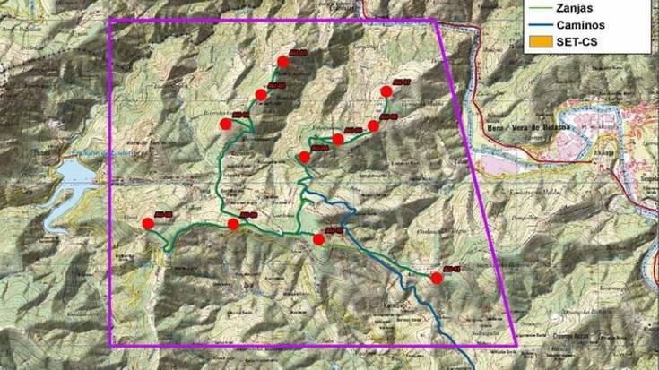 Lesakako Auzoberri inguruan parke eolikoa egiteko lehen izapideak hasi dituzte