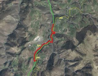 Zolaberritze-lanek trafikoaren desbideraketa eraginen dute Belate inguruan aste honetan ere