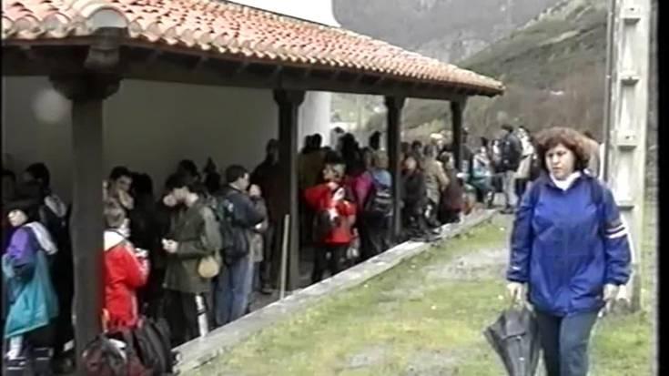 San Anton Eguna Lesakan 1999an