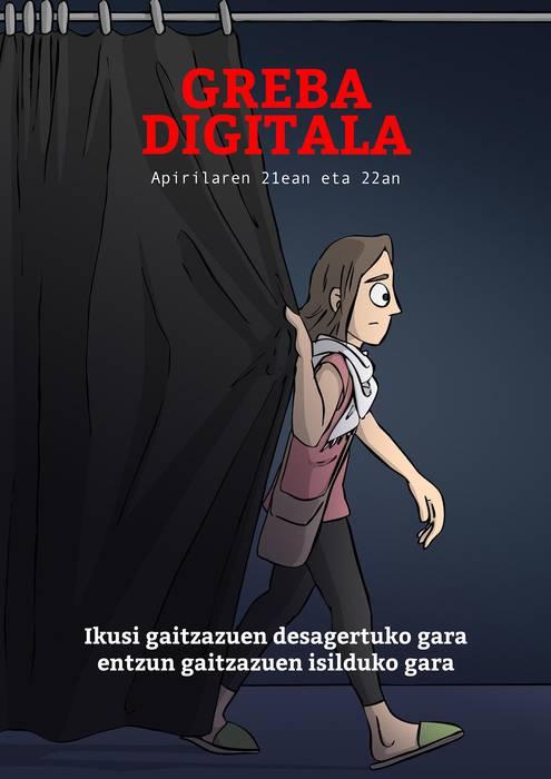 Kulturgileek greba digitala deitu dute apirilaren 21ean eta 22an