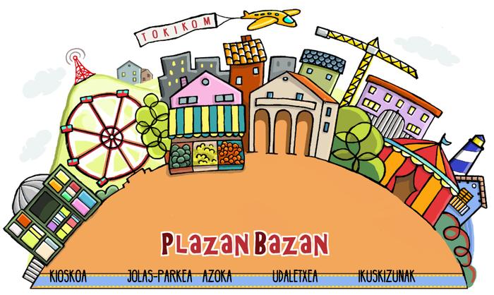 Denborapasarako bertze aukera bat duzue Plazanbazan webgunean