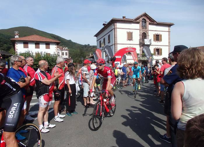 Urdazubin bukatuko den Espainiako Vueltako etapa aurkeztuko dute maiatzaren 16an
