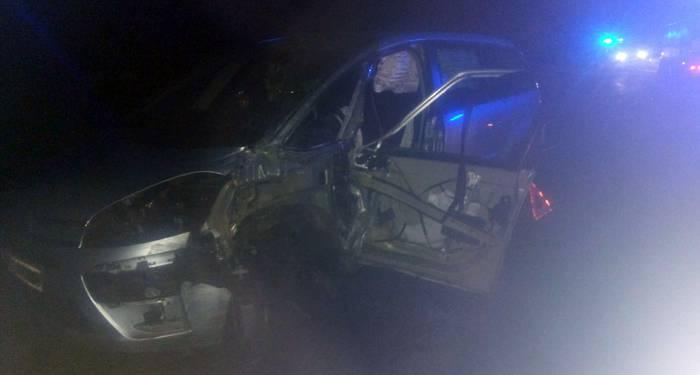 Pertsona bat arin zauritu da Urdazubin izandako trafiko istripuan