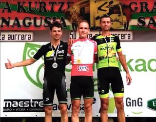 Master-40 kategoriako Euskadiko txirrindulari txapelketa irabazi du Iñaki Villoria iruritarrak