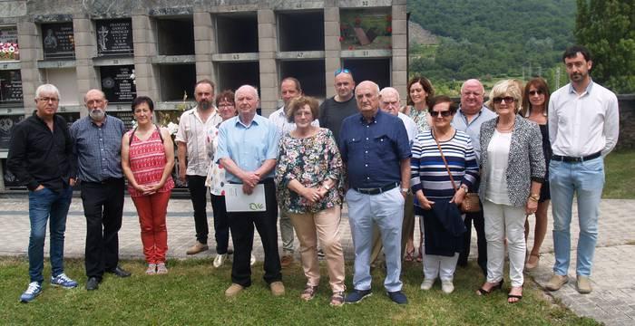 82 urte beranduago agurtu dute Miguel Bergara Bereau aranztarra