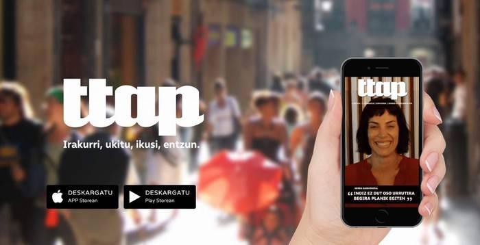 'Ttap' aldizkari digitala Nafarroara ailegatu da