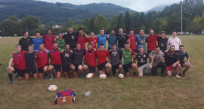 Baztan Rugby Taldeak 2021-2022 denboraldiari ekin dio indarrez eta ilusioz