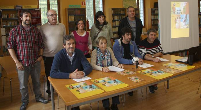Euskaltegiko matrikulazio kanpainari bultzada eman dio Bortzirietako Euskara Mankomunitateak